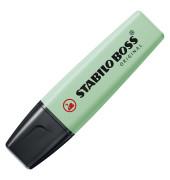 Textmarker Boss Original pastell minzgrün 2-5mm Keilspitze