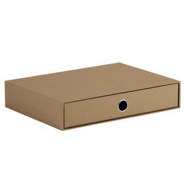 Schubladenbox Soho kraft 1 Schublade geschlossen