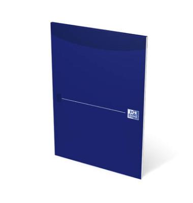 100050239 unliniert blau Briefblock A4 50BL Lin. 20