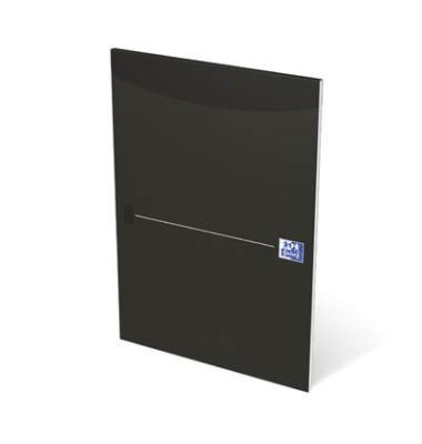 100050241 kariert schwarz Briefblock A4 50BL Lin. 22