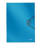 4563-10-30 Gummizugmappe Solid A4 PP hellblau