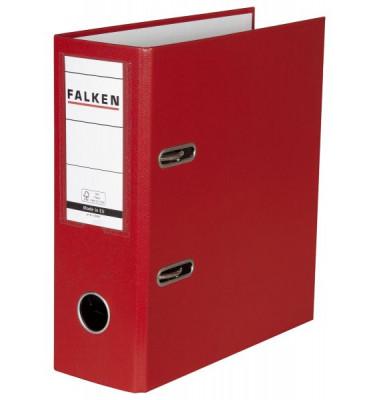 11285657 N80 Ordner A5-hoch rot 80mm