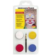 Schmink-Set Clown - 4 Farben