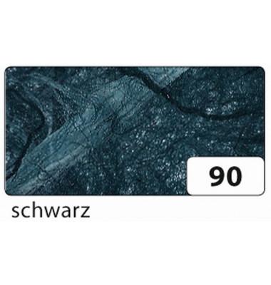 Strohseide - 47 x 64 cm, schwarz