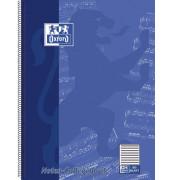 Noten-Collegeblock Lin.14 A4+ 90g 50 Bl