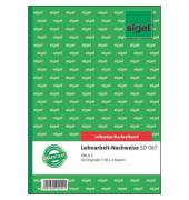 Lohnarbeits-Nachweis SD067 A5 hoch selbstdurchschreibend 3x40 Blatt