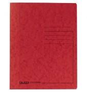 Schnellhefter Colorspan 1128 A4 intensiv rot 355g Karton kaufmännische Heftung / Amtsheftung bis 250 Blatt