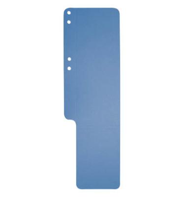 Aktenfahnen 13707B blau 320g gelocht 100x320mm 100 Blatt