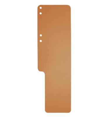 Aktenfahnen 13709B orange 320g gelocht 100x320mm 100 Blatt
