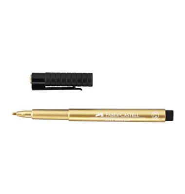 FABER CASTELL 167397 PITT Tuschestift artist pen metallic gold