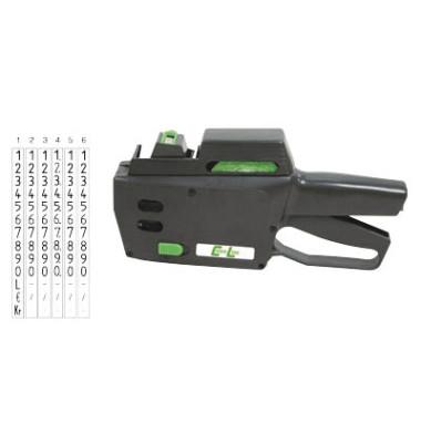 Preisauszeichnungsgerät CL 6.22 ACL-14000622, 1-zeilig, 6-stellig, mit Nummern