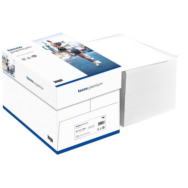 inapa tecno premium a4 80g kopierpapier wei 2500 blatt. Black Bedroom Furniture Sets. Home Design Ideas