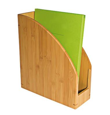 Stehsammler 61 1307 Bambus 100x265x300mm A4 Holz braun