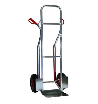 Sackkarre 71548 tragfähig bis 150kg silber 21x30,5cm Aluminium