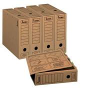 Archivboxen 096900 A4 natronbraun 33x8x29cm 20 Stück