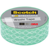Washi Tape Kreativklebeband mint 15mmx10m