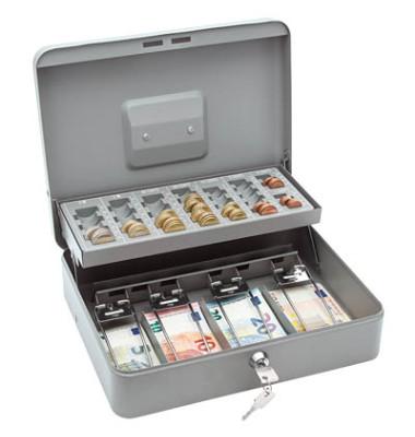 Geldkassette Standard Plus 149 grau 300x240x90mm