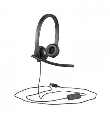 USB Headset H570e Stereo Headset schwarz