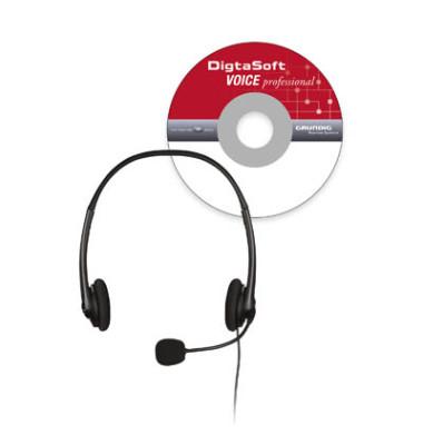 Spracherkennungssoftware DigtaSoft Voice professional