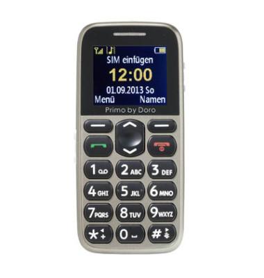 215 Großtasten-Handy beige