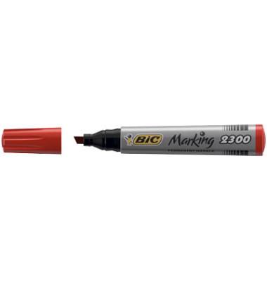 Permanentmarker Marking 2300 rot 3,7-5,5mm Keilspitze
