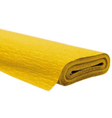 AQUAROLA 82061-4610 Krepppapier 50x250cm gelb