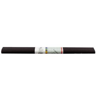 AQUAROLA 82061-4695 Krepppapier 50x250cm schwarz