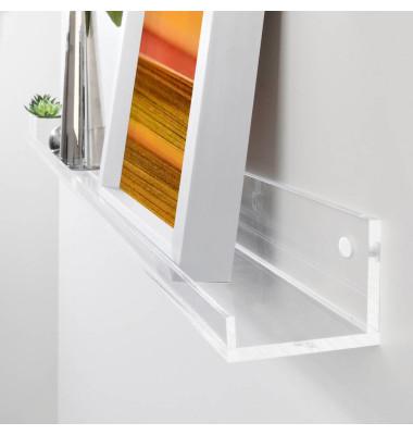 SIGEL GA110 Gallery Ablageboard 100cm glasklar