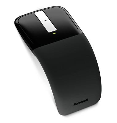 Touch-Mouse Arc Touch Mouse RVF-00003, 3 Tasten, kabellos, USB-Funk, optisch, schwarz
