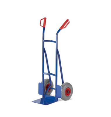 Sackkarre 20-9841 tragfähig bis 200kg blau 30x22,5cm Stahl TPE-Bereifung