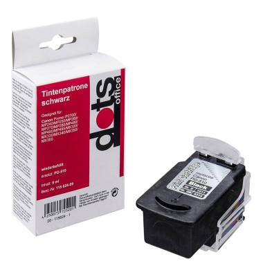 schwarz Druckkopf ersetzt Canon PG-510 1511,4001-DOTS