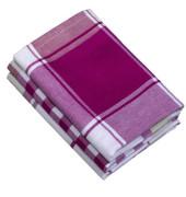 3 Geschirrtücher burgund 02902 99 500
