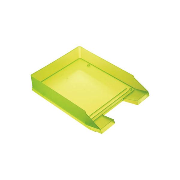 helit Briefablage grün-transluzent