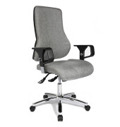 Top Point Deluxe Bürostuhl grau TOP POINT DELUXE G23