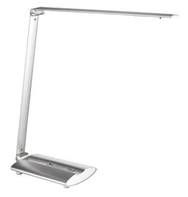 Schreibtischlampe 9212 mit Fuß silber