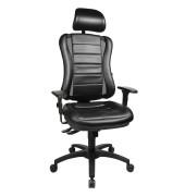 Bürodrehstuhl Head Point RS ohne Armlehnen schwarz HE300 S100X