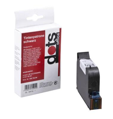 schwarz Tintenpatrone ersetzt HP 45 0927,4451-DOTS