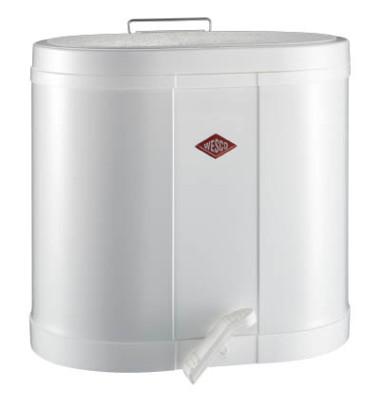 Mülltrenner 2x 15,0 l weiß 170611-01