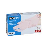 100 Einmalhandschuhe SAFE LIGHT lila Größe S 27065