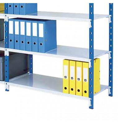 Rollcontainer 052726Z Holz eiche/weiß, 3 normale Schubladen, mit extra Utensilienauszug