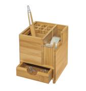 Schreibtisch-Organizer Bambus braun 611707