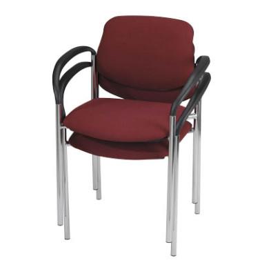 2 NOWY STYL Besucherstühle rot