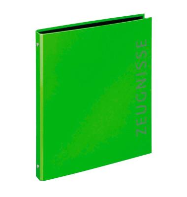 Zeugnismappen-Ringbuch 4144341 grün 4-Ring Ø 16mm