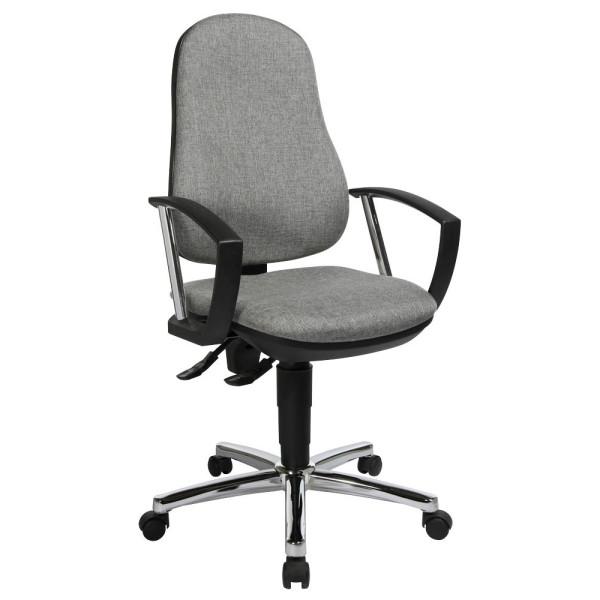 Bürodrehstuhl Support P Deluxe grau 8179AG23