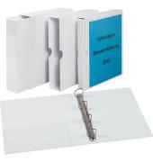 Präsentationsringbuch 4-Ringe weiß 40mm 9302-00201