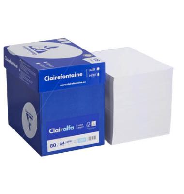 Clairalfa Laser2800 A4 80g Maxi-Box Kopierpapier hochweiß 2500 Blatt / 1 Karton