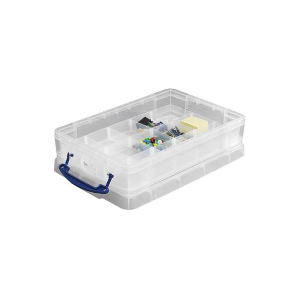 Really Useful Box Aufbewahrungsbox mit Einsätzen 21 Liter