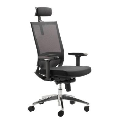 Bürodrehstuhl My Optimax 2486 mit Armlehnen schwarz