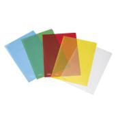 10 Sichthüllen farbsortiert genarbt 50009084
