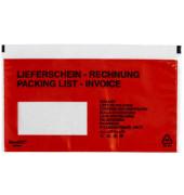 "Lieferscheintaschen Classic plus Din Lang ""LIEFERSCHEIN - RECHNUNG"" selbstklebend 250 Stück 2FVDO350226"